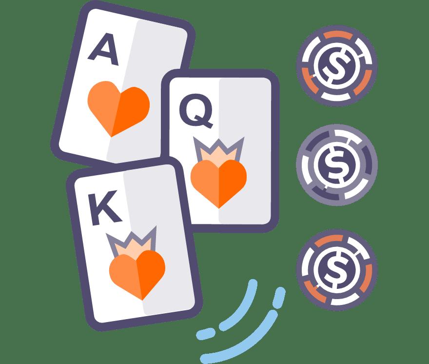 10 Poker à trois cartes Casino En Ligne 2021